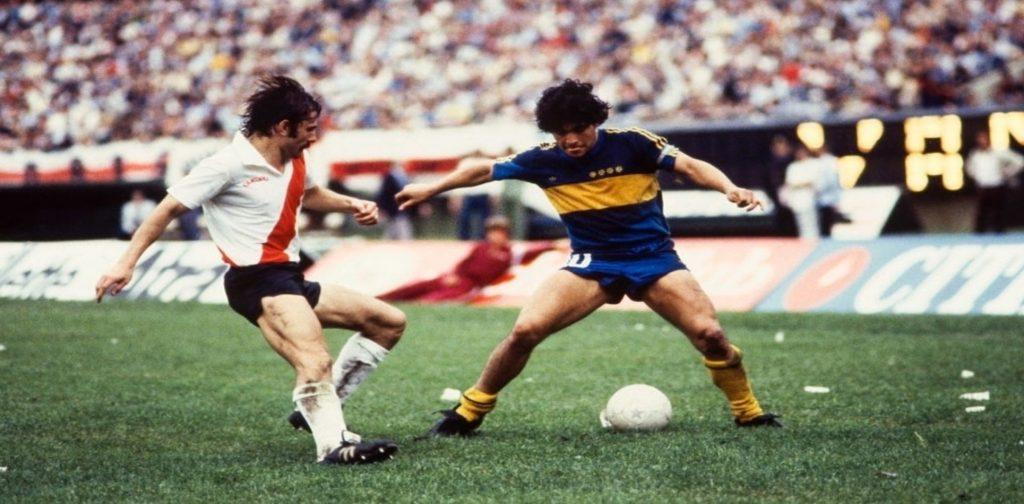 "Saporiti: ""Maradona era un ganador nato, iba al frente siempre"""